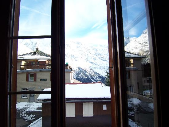 Chalet Fontana: view from my room
