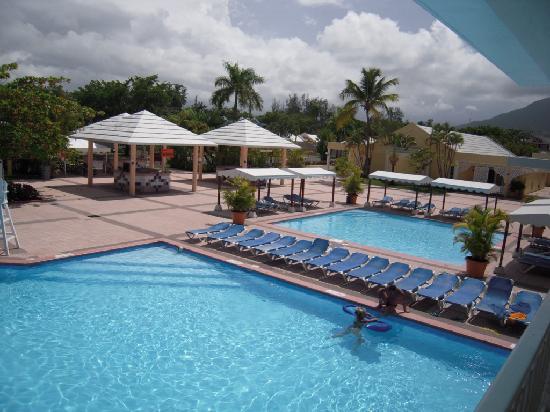 Puerto Plata Village Resort: piscine vue du balcon