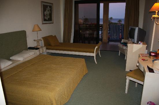 Atlantica Aegean Blue Resort: Our double bedroom