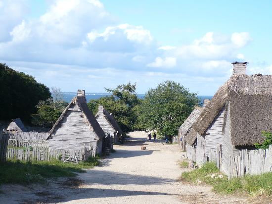 17th Century Houses Picture Of Plimoth Plantation