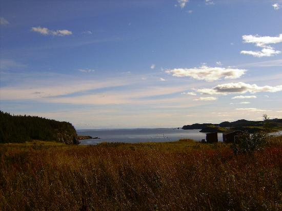 Port Rexton, Canada: View from the Erin House Deck