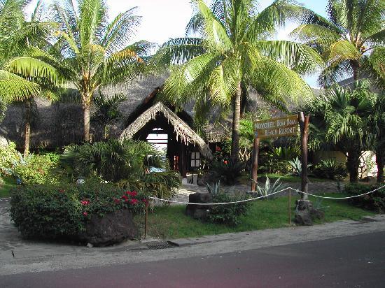 Bora Bora Beach Resort : Entrance to the Novotel Bora Bora
