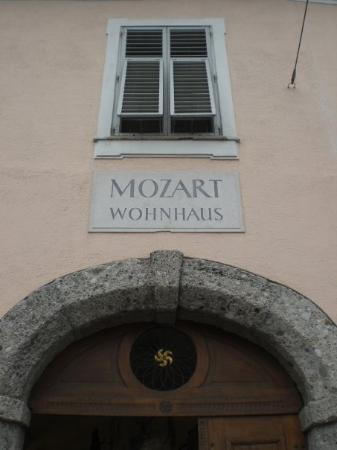 """Mozart Residence (Mozart Wohnhaus): The House the Mozart Family moved to in """"better financial times"""""""