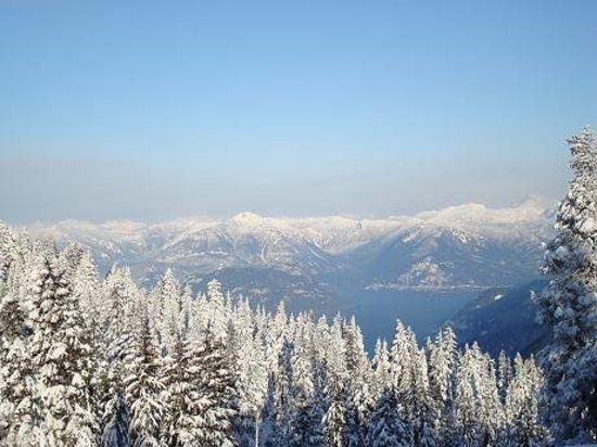 Cypress Mountain: view from Cypress