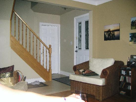 Beside The Winery: Living room area