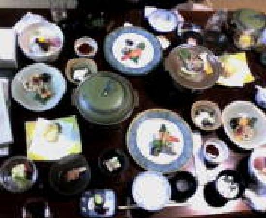 Shirayunoyado Yamadaya: 夕食●○お腹いっぱい