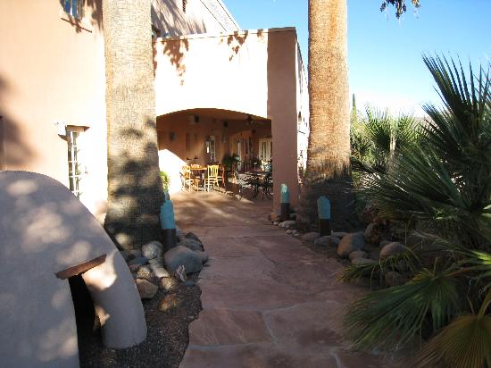Sierra Grande Lodge & Spa: Sierra Grande Lodge entrance area