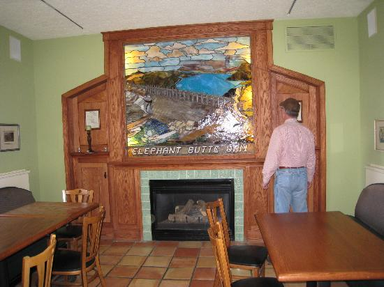 Sierra Grande Lodge & Spa: Stained glass from 1911