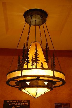 The Steamboat Grand: One of the lights