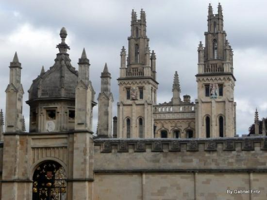 University of Oxford: Uma das faculdades de Oxford University
