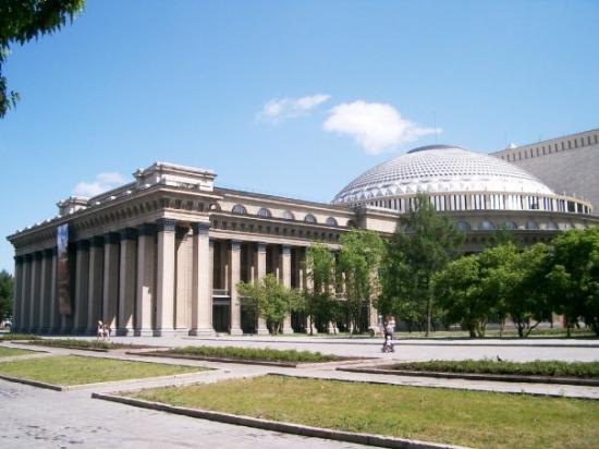 Novosibirsk State Academic Opera and Ballet Theatre: The Novosibirsk Opera House.