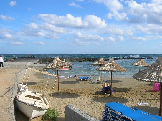Sur La Digue Promenade Picture Of Europa Beach Hotel Analipsi