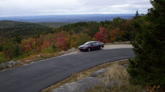Warner, NH: Scenic Look out