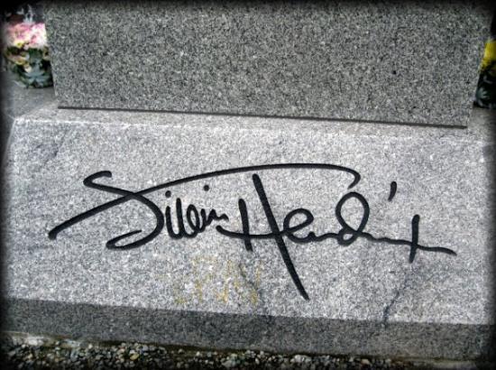 Jimi Hendrix Grave Site Imagem