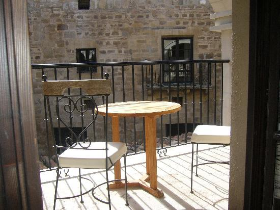 Hotel Palacio de Mengibar: Terraza habitación.