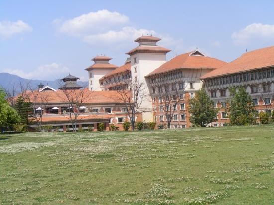 A view of the hotel
