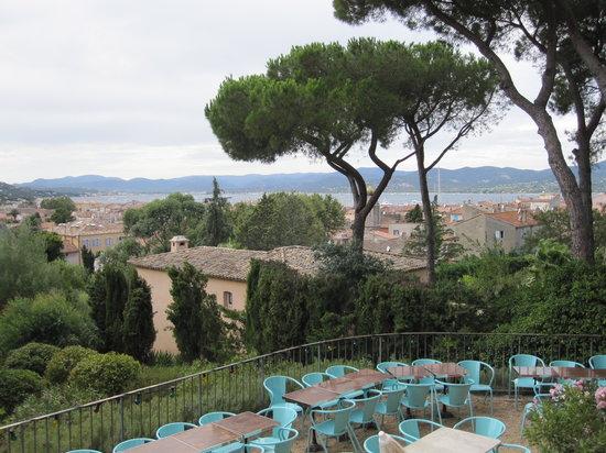 Hotel Ermitage : la terrasse