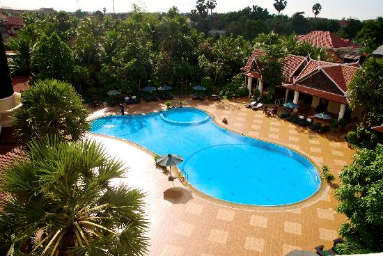 Borei Angkor Resort & Spa : view from our room