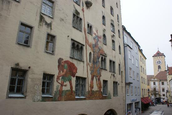 regensburg david a goli david and goliath picture of hotel goliath am dom regensburg. Black Bedroom Furniture Sets. Home Design Ideas