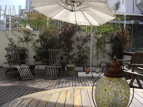 Vain Boutique Hotel: La terrasse