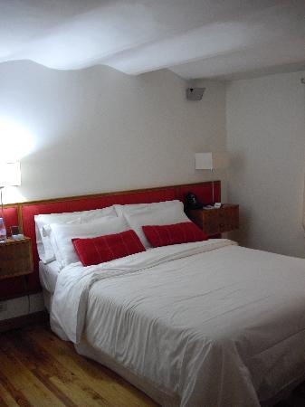 Vain Boutique Hotel: La chambre N avec plafond court