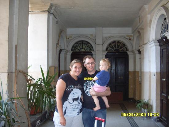 Little Italy B&B: Me + Rene and baby