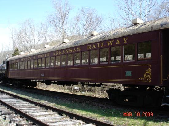 old passenger train car fotograf a de eureka springs arkansas tripadvisor. Black Bedroom Furniture Sets. Home Design Ideas