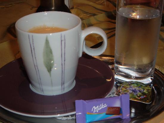 Auenhotel: Nachmittagskaffee