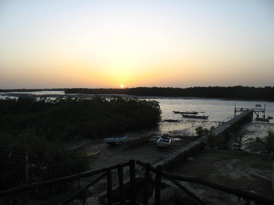 Toubakouta, Senegal: coucher de soleil