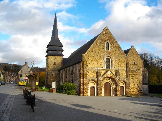 Tillieres-sur-Avre, France : Tillières sur avre - church