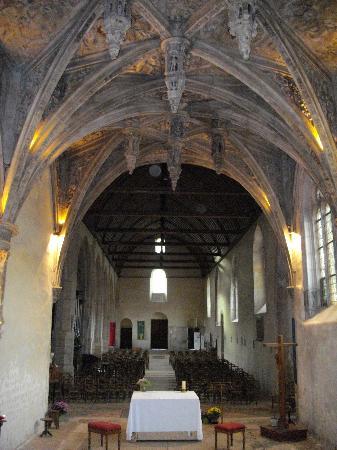 Tillieres-sur-Avre, France : Inside the church