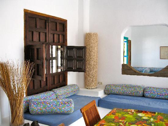 Posada La Terraza: La Terraza lounge area