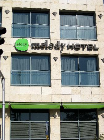 Melody Hotel   Tel Aviv - an Atlas Boutique Hotel: Front of the Melody Hotel.