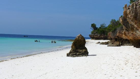 แซนซิบาร์, แทนซาเนีย: con la bassa marea si può raggiungere nungwi da kendwa beach