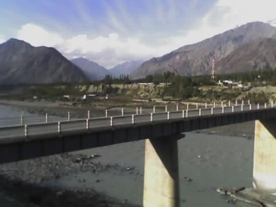 Gilgit, Pakistan: China bridge