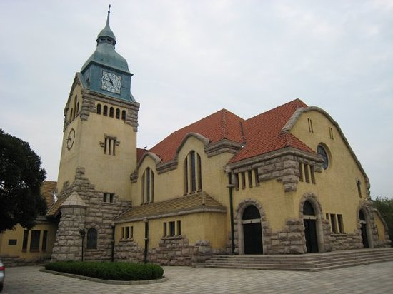 Protestant Church  Jidu Jiaotang   Qingdao