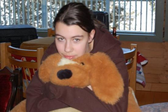 Saint Jerome, Canada: ma petite soeur semble trouver sa plutôt dur de jouer 2 rôles