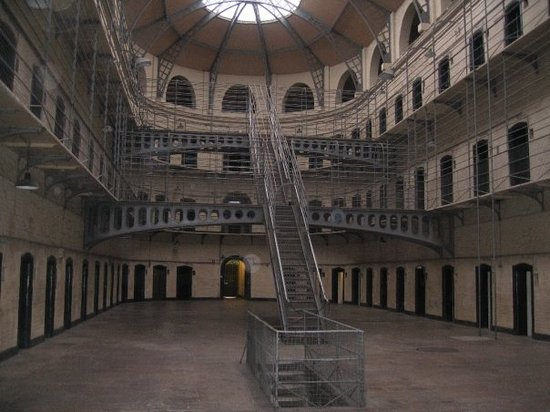 Dublin, Irlande : recognize this? you should it was used in the prison scene from the Italian job