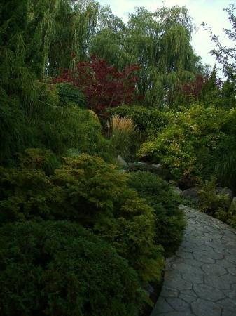 Nakusp, Καναδάς: Gardens down by the lake.