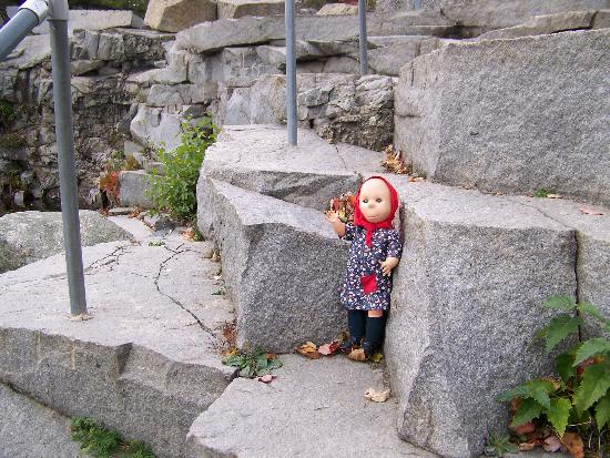 "Vinalhaven, ME: My Doll ""Poor Pitiful Pearl"" at Lawson's Quarry"