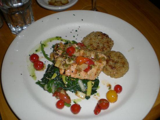 Venus Restaurant: Alaskian salmon