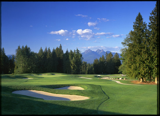 Langley, Canada: The view from the first tee