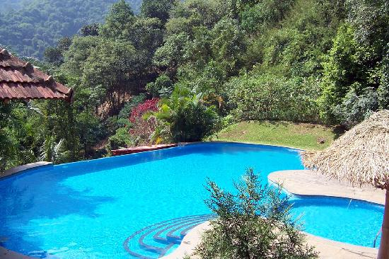 The view from our cottage picture of kurumba village - Best hotels in ooty with swimming pool ...