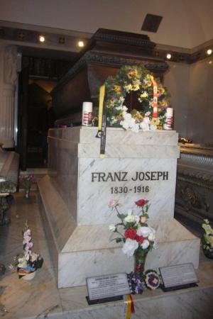 Kapuziner Crypt (Kapuzinergruft): Der Sarg von Franz