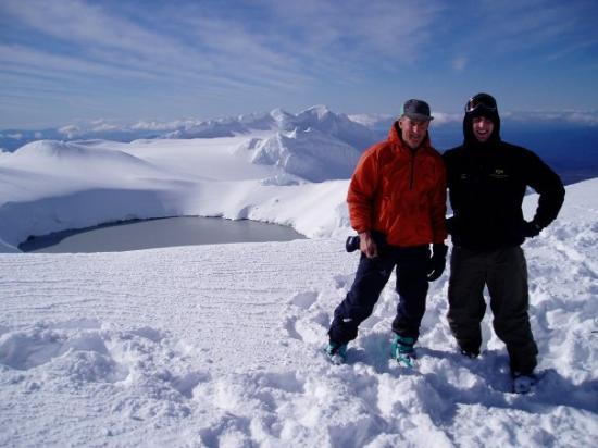 Whakapapa, Nouvelle-Zélande : skiing ruapehu