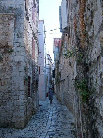 Weltkulturerbestätte Trogir: Trogir's narrow streets
