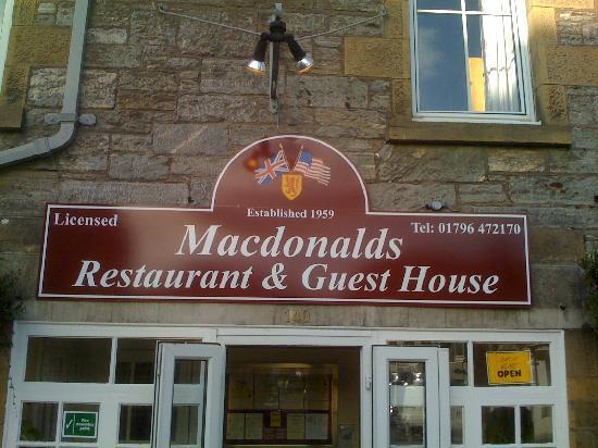 McKays Hotel, Bar & Restaurant : Hotel Front