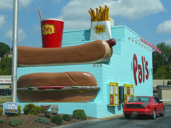 Exterior of Pal's in Kingsport, TN