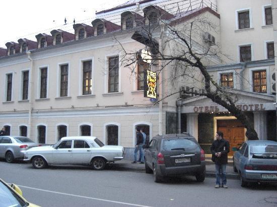Club 27 Hotel : Hotel, Außenansicht