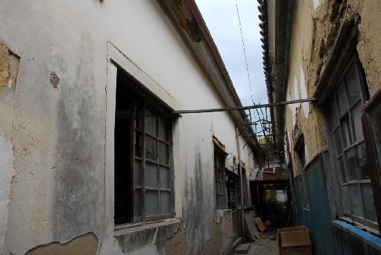 Kaze-no-Minato History Town Street : 何でもない古い町並み